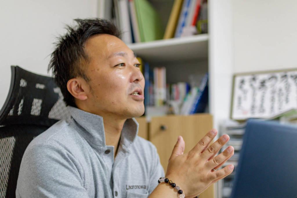 株式会社リンクロノヴァ 代表取締役 長野雅樹