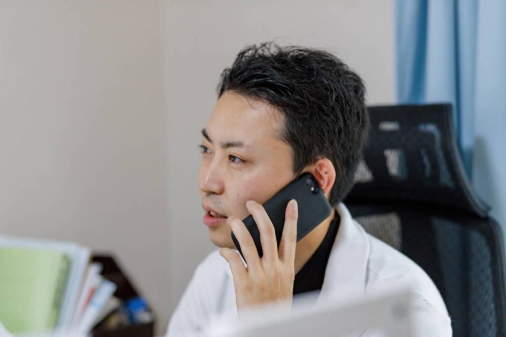 副社長 伊藤 宰 電話交渉