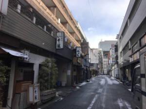 昨日は仙台街中工事でぶらり